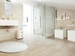 Pink Tile Bathroom Ideas Wood Tile Shower Wall White Pink Colors Wooden Vanity Wall Mirror