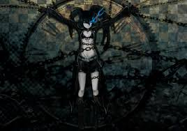 spooky screensaver chenbo black rock shooter dead master kuroi mato fanasty dark