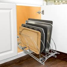 roll out under sink cabinet organizer pull out two tier sliding