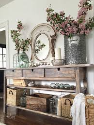 buffet decor ideas cottage decorating ideas using buffets and cabinets