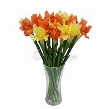 romantic 10pcs lot 68cm length real touch silk flower fake flower