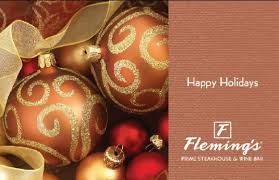flemings gift card guide restaurant gift card deals orange county register