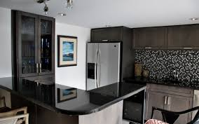 granite countertop white kitchen cabinet doors only clean gas