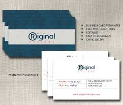 business card template psd 22 free editable files