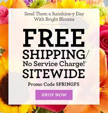 free shipping flowers 1 800 flowers free shipping no service charge starts now