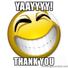 Meme Emoticon Face - thank you smiley face yaayyyy thank you smiley face meme generator