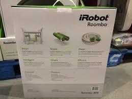Costco Vaccum Cleaner Costco 1877550 Irobot Roomba 805 Vacuum Cleaning Robot Back