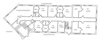 Target Center Floor Plan by Residence Halls Mead Way And Old Dorms Myslc