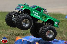 monster trucks bigfoot 5 green monster u2013 outlaw retro trigger king rc u2013 radio controlled