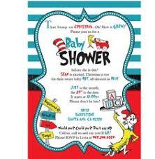 Dr Seuss Baby Shower Invitation Wording - so cute dr seuss baby shower invitation by invitesbysandi on