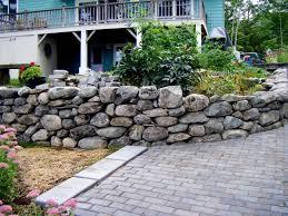 home landscape gravel white landscaping rock landscaping pebbles