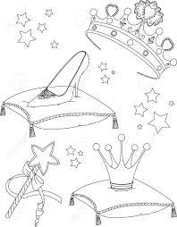 Beautiful Princess Collectibles Coloring Page Royalty Free Princess Crown Coloring Page Free Coloring Sheets