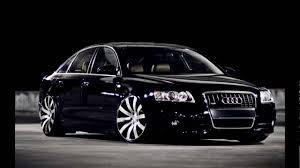 black audi luxury car