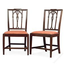 set of six adam style mahogany dining chairs antiques atlas