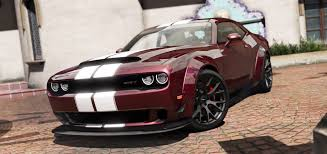 Dodge Challenger 4 Door - 2016 dodge challenger shaker hellcat demon liberty walk