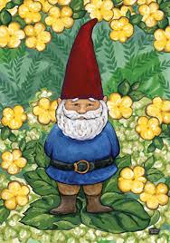 Lawn Gnome by Garden Gnome Flag Mad About Gardening