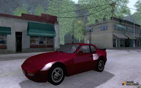 custom porsche 944 944 turbo type 951 for gta san andreas