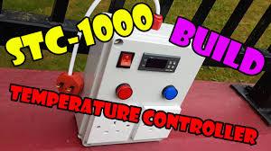 stc 1000 temperature controller box build youtube