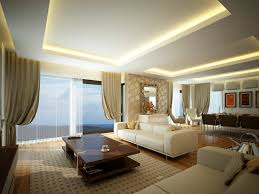 living room rounded down pop ceiling drawing room recessed