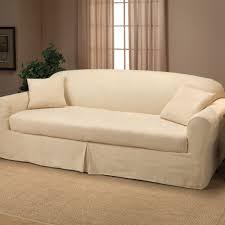 2 Piece T Cushion Sofa Slipcover by Two Piece Sofa Slipcover Centerfieldbar Com