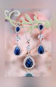 royal blue earrings royal blue earrings blue bridal earrings wedding blue jewelry