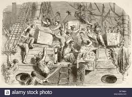 boston tea party illustration stock photos u0026 boston tea party