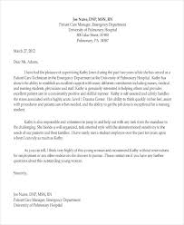 ideas of recommendation letter for emergency room nurse on letter