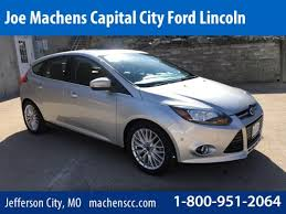 2013 ford focus titanium hatchback for sale used 2013 ford focus hatchback titanium ingot silver for sale in