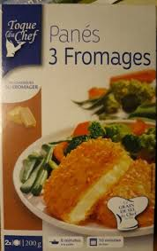 3 fr cuisine panéd 3 fromages x 2 toque du chef 200 g 2 x 100 g
