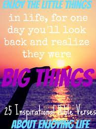 inspirational bible verses enjoying