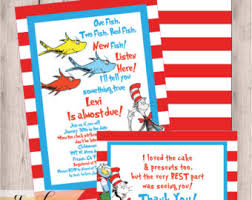 dr seuss baby shower invitations dr seuss baby shower invitations etsy
