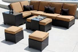 Sectional Patio Furniture Sets Sectional Sofa Design Outdoor Sectional Sofa Set Lorita Wicker