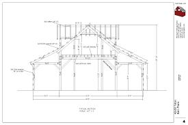 100 barn loft plans colorado cabin plan h235 1260 sq ft 1
