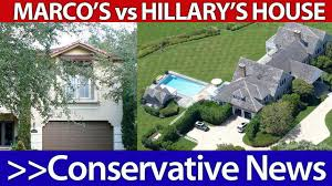 hillary clinton u0027s house vs marco rubio u0027s house youtube