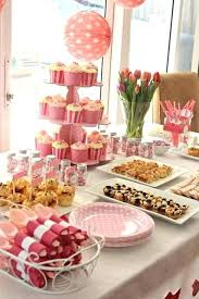 baby shower table settings baby shower table setting ideas best set up on pink parties tea