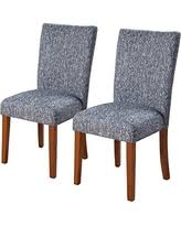 Navy Upholstered Dining Chair Amazing Deal On Kinfine Parsons Upholstered Accent Dining Chair