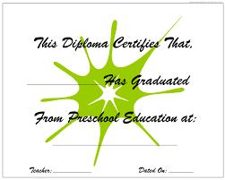 preschool graduation diploma kindergarten graduation preschool graduation free printable kids