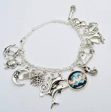 bracelet with charms images Mako mermaids bracelet bracelet with charms h2o just add etsy jpg