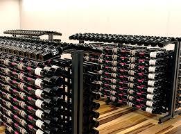 cool wine cellar metal island display racks wine racks