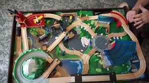 how to put imaginarium train table together train table 3m blue tac youtube