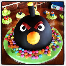 cupcake magnificent angry birds kuchen angry birds party favors