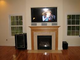 home theater installer stratford ct home theater installation and tv over fireplace