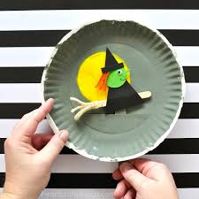 Halloween Craft Kids - playful paper plate halloween craft i heart crafty things