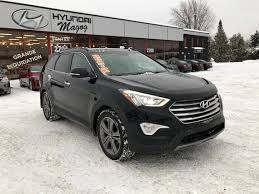 siege hyundai hyundai magog used 2014 hyundai santa fe xl for sale in magog