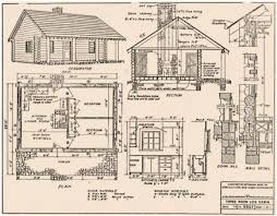 small log cabin blueprints log home plans diy home