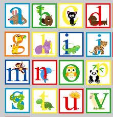 alphabet wall decal animal alphabet decal girls decal boys zoom