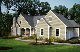 affordable simple design of the concrete blocks and siding houses