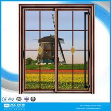 sliding glass door زجاج باب المطبخ انزلاق الباحة الانزلاق زجاج الباب الستائر الباب