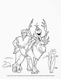 frozen coloring pages olaf and sven murderthestout