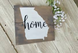 wood sign wall state wood sign home state sign wood sign rustic